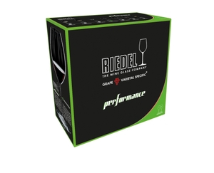 RIEDEL Performance Syrah/Shiraz in the packaging