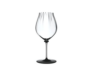 RIEDEL Fatto A Mano Performance Pinot Noir Black Base on a white background