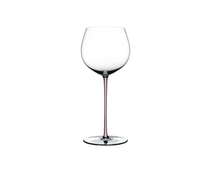 RIEDEL Fatto A Mano Oaked Chardonnay Pink R.Q. on a white background