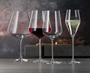 Sample packaging of a SPIEGELAU Definition Bordeaux Glass two pack