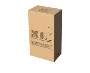 RIEDEL Decanter Amadeo Grigio R.Q. in the packaging