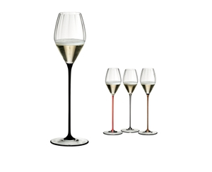RIEDEL High Performance Champagne Glass Black a11y.alt.product.colours