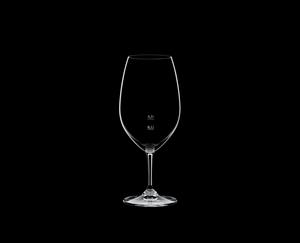 RIEDEL Restaurant Syrah Pour Line CE on a black background