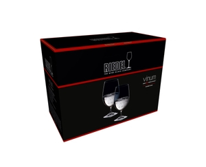Sample packaging of a RIEDEL Vinum Gourmet Glass two pack