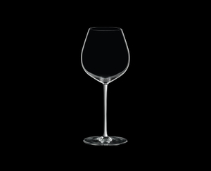 RIEDEL Fatto A Mano Pinot Noir White on a black background
