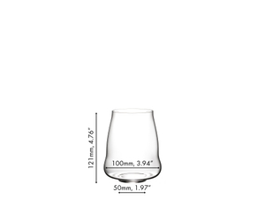 SL RIEDEL Stemless Wings Pinot Noir/Nebbiolo a11y.alt.product.dimensions
