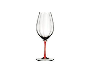 RIEDEL Fatto A Mano Performance Riesling Red on a white background