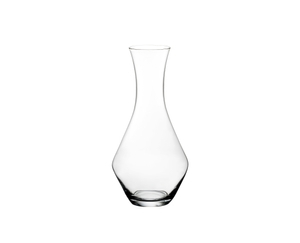 SL RIEDEL Stemless Wings + Decanter on a white background
