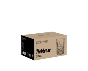 NACHTMANN Noblesse Whisky tumbler in the packaging