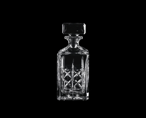 NACHTMANN Decanter Highland on a black background