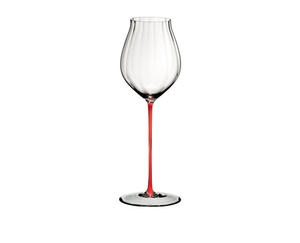 RIEDEL High Performance Pinot Noir Red on a white background