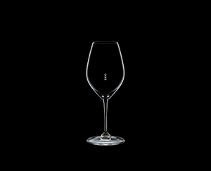 RIEDEL Restaurant Champagne Wine Glass Pour Line ML on a black background