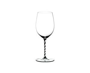 RIEDEL Fatto A Mano Cabernet/Merlot Black & White on a white background