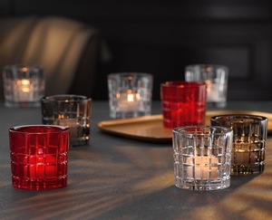 NACHTMANN Square Votive red in use