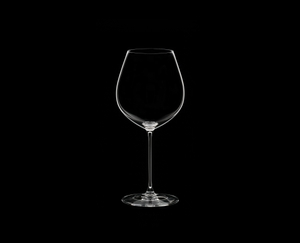 RIEDEL Veritas Old World Pinot Noir on a black background