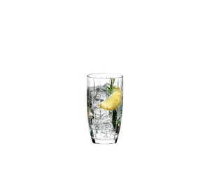 RIEDEL Sunshine Long Drink filled with a drink on a white background