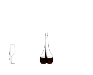 RIEDEL Decanter Black Tie Smile R.Q. a11y.alt.product.filled_white_relation