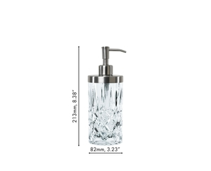 An unfilled NACHTMANN Noblesse Spa Dispenser XL on white background