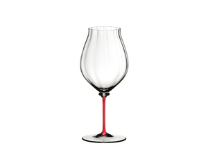 RIEDEL Fatto A Mano Performance Pinot Noir Red on a white background