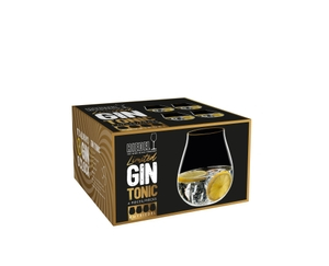 RIEDEL Gin Set Limited Edition Gold Rim in the packaging