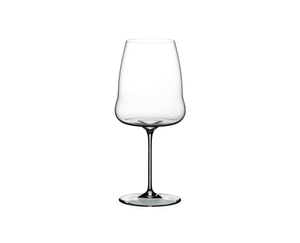 RIEDEL Winewings Syrah on a white background