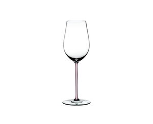 RIEDEL Fatto A Mano Riesling/Zinfandel Pink R.Q. on a white background