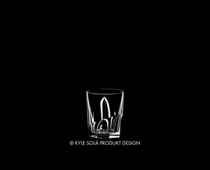 RIEDEL Tumbler Collection Louis Whisky on a black background