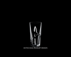 RIEDEL Tumbler Collection Louis Long Drink on a black background