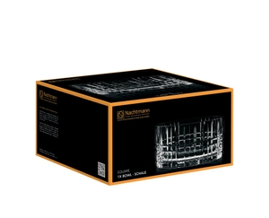 NACHTMANN Square Bowl (23 cm / 9 in) in the packaging