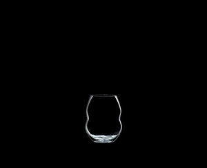 RIEDEL Swirl White Wine on a black background