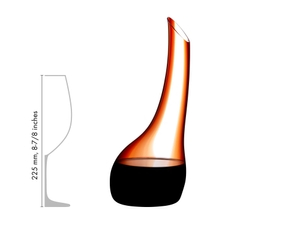 RIEDEL Cornetto Confetti Decanter Red R.Q in relation to another product