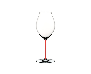 RIEDEL Fatto A Mano Syrah Red on a white background