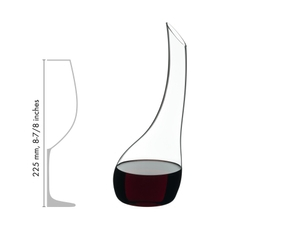 RIEDEL Decanter Cornetto Mini R.Q. in relation to another product