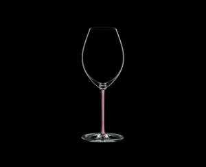 RIEDEL Fatto A Mano Syrah Pink auf schwarzem Hintergrund