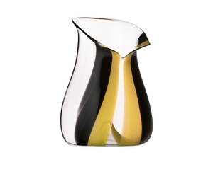 RIEDEL Champagne Cooler Black Tie Yellow on a white background