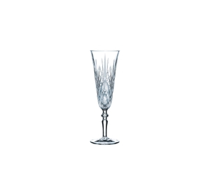 Unfilled NACHTMANN Palais Taper Champagne Glass on white background