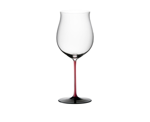 RIEDEL Black Series Collector's Edition Burgundy Grand Cru on a white background