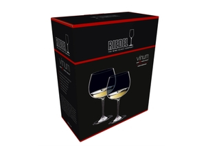 RIEDEL Vinum Oaked Chardonnay/Montrachet in the packaging