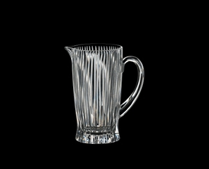 RIEDEL Tumbler Collection Fire Pitcher on a black background