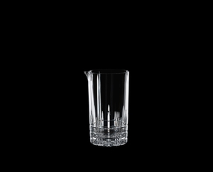 SPIEGELAU Perfect Serve Mixing Glass on a black background