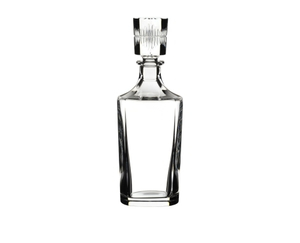 RIEDEL Tumbler Collection Shadows Whisky Set - 2 Whisky Tumbler + Decanter on a white background