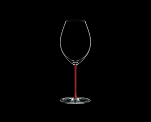 RIEDEL Fatto A Mano Syrah Red on a black background