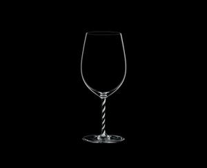 RIEDEL Fatto A Mano Bordeaux Grand Cru Black & White R.Q. con fondo negro