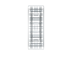 NACHTMANN Square Plate Rectangular 28cm/11.0in on a white background
