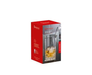 SPIEGELAU Perfect Serve Mixing Glass in the packaging