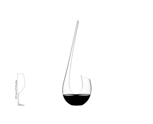 RIEDEL Decanter Swan a11y.alt.product.filled_white_relation