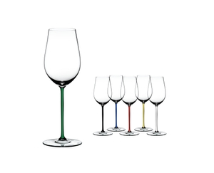 RIEDEL Fatto A Mano Riesling/Zinfandel Green R.Q. a11y.alt.product.colours