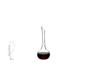 RIEDEL Decanter Superleggero a11y.alt.product.filled_white_relation