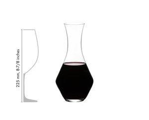 SL RIEDEL Stemless Wings + Decanter in relation to another product