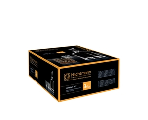 NACHTMANN Aspen Whiskey Set with 2 glasses and decanter in the packaging